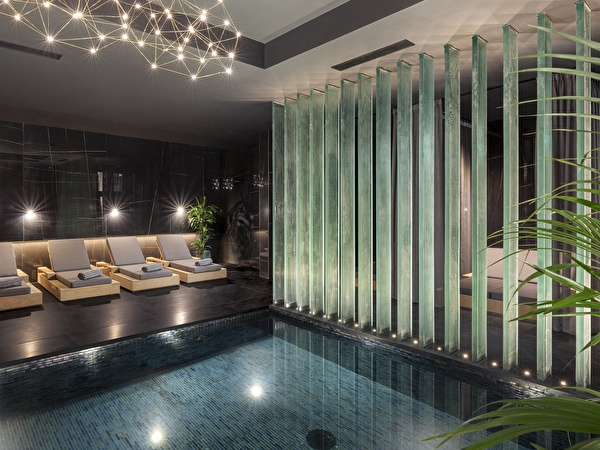 Timeless indoor pool